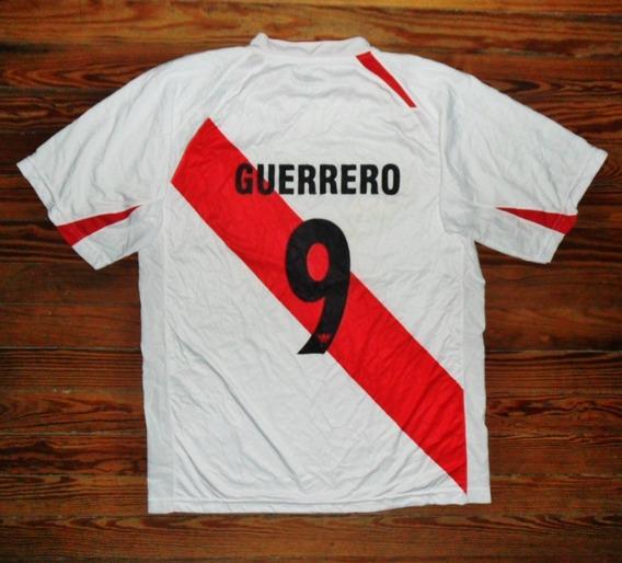 Camiseta Perú 2008 Walon #9 Guerrero