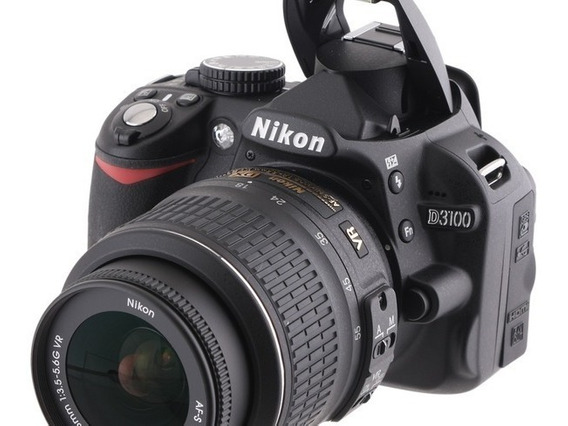 Câmera Profissional Nikon 3100 Lente 18 55