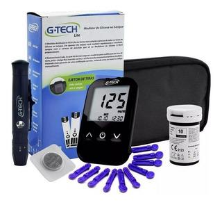 Aparelho De Medir Glicose G Tech Free Lite Kit Completo