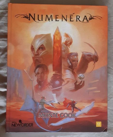 Livro Manual Do Rpg De Mesa Futurista Numenera