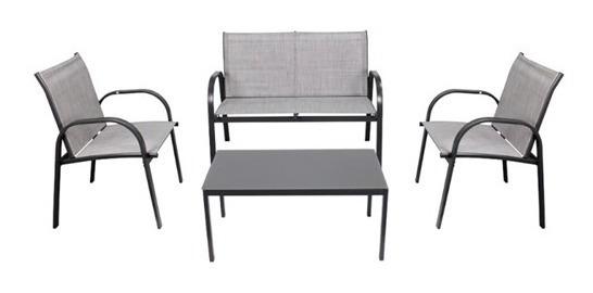 Cadeiras E Mesa Centro Conjunto Para Jardim 4 Peças Belfix