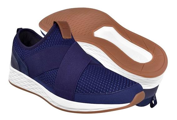 Zapatos Casuales Para Caballero Flexi 97403 Azul