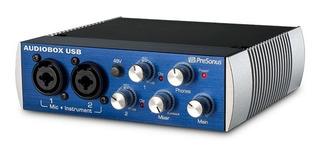 Placa De Audio Sonido Presonus Audiobox Sin Uso 2 Canales