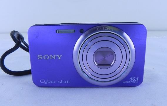 Câmera Digital Sony Cyber-shot Dsc-w570 16.1 Mp 5x Zoom