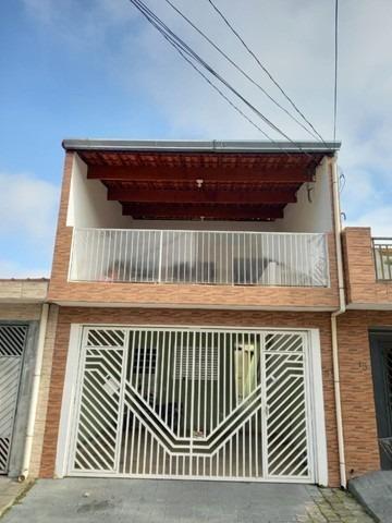 Imagem 1 de 14 de 3 Casas Para Renda No Terreno 125m2 No Jd Nsra Do Carmo Sp