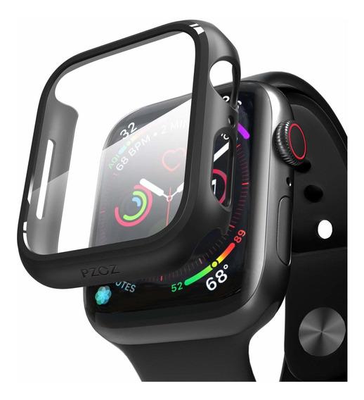 Apple Watch Series 4/5 Case Y Film Pet Protector 44mm Negro