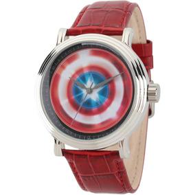 Reloj Marvel Para Hombre Wma000022 Tablero De Avengers 75th