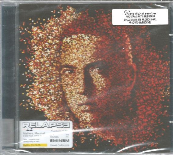 Cd - Eminem - Relapse - Frete Gratis - Lacrado