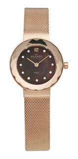 Reloj Skagen 456srr1 Rosa Mujer