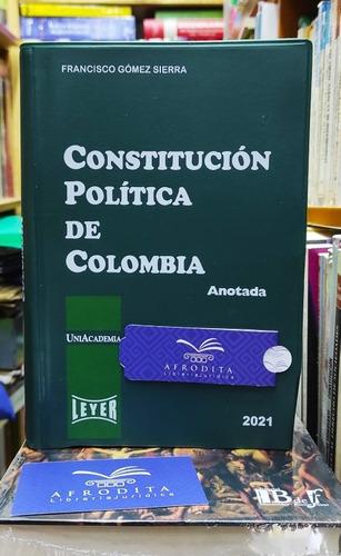 Imagen 1 de 1 de Constitución Política De Colombia