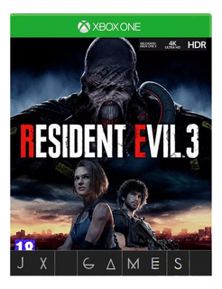 Resident Evil 3 Remake Xbox One - Jx Games 100% Seguro