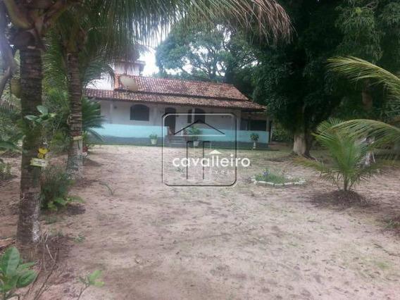 Chácara Residencial À Venda, Balneário Bambuí (ponta Negra), Maricá - Ch0022. - Ch0022