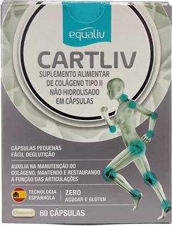 Cartiliv Suplemento Alimentar - Colágeno Tipo 2 60 Cápsulas