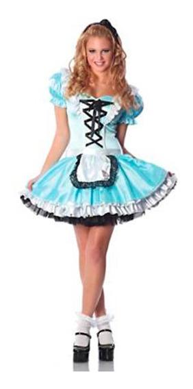 Disfraz Alicia Adulto - Halloween Premium Importado M