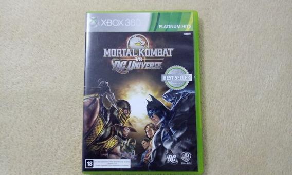 Jogo Mortal Kombat Vs Dc Universe Xbox 360 Orginal