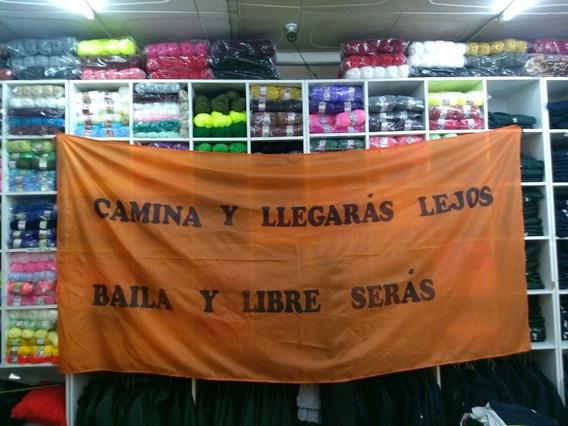 Bandera De Tafeta Sublimada