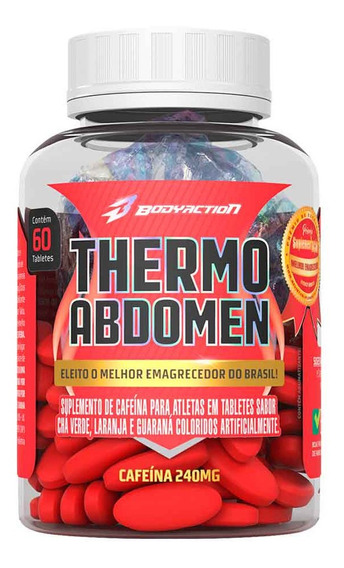 1x Thermo Abdomen - 60 Tabletes - Body Action
