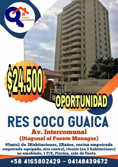 Res Coco Guaica 3hab Av Intercomunal Sector Cocolandia
