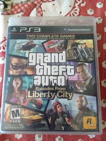Consigo Frete Gratis Grand Theft Auto Liberty City Ps3 Fisic