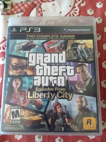 Consigo Frete Gratis Grand Theft Auto Liberty City Ps3 Fisic