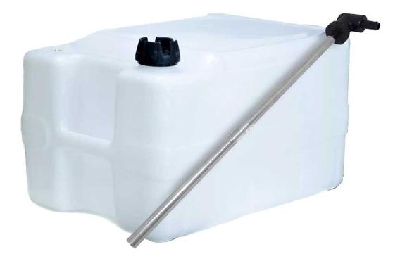 Tanque De Combustível 50l + Pescador De Gasolina Fixo