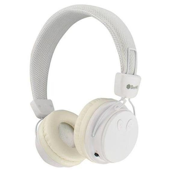Fone De Ouvido Branco Bluetooth E P2 Beewi Android E iPhone
