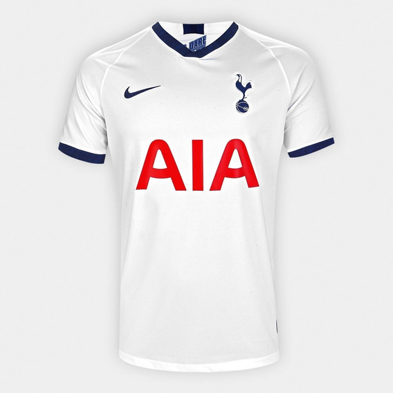 Camisa Tottenham L 19/20 - Branca