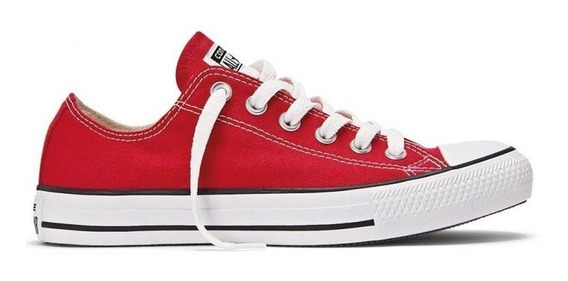 Zapatillas Converse All Star Ox Red Sku 156993c