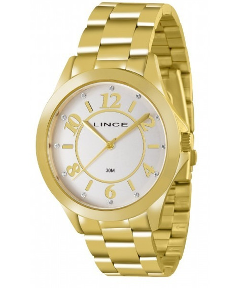 Relógio Feminino Lince Casual Lrgj033lb2kx Novo