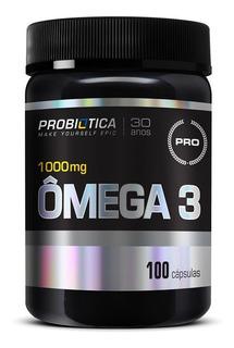 Ômega3 - Probiótica - 100 Cápsulas