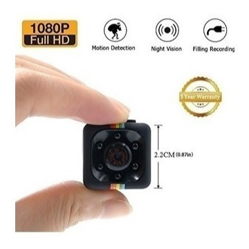 Mini Filmadora Espiã Sq11 Captura Video E Audio