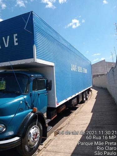 Caminhão Truck Baú Mb
