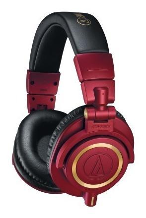 Fone De Ouvido Audio Technica Ath M50x Rd Red Edition - Edição Limitada - C/ Nfe