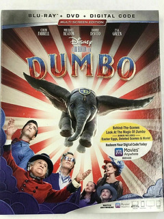 Blu-ray + Dvd Dumbo (2019) De Tim Burton