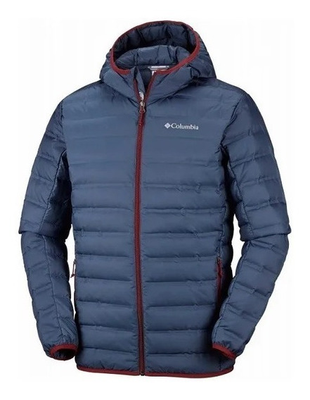 Columbia Campera C/capucha Hombre Lake 22 Jacket Az-bordo