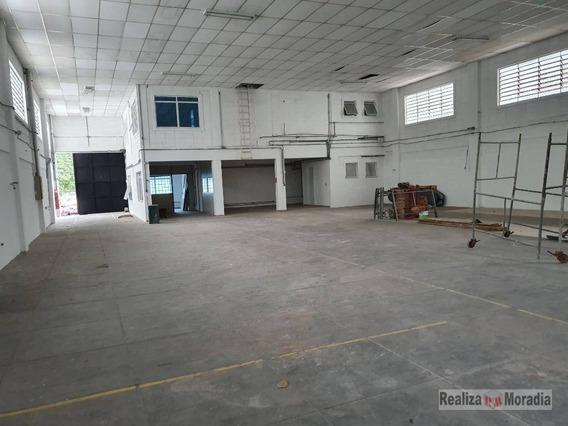 Galpão Industrial Com 1.000 M² Por R$ 16.000/mês - Granja Viana - Sp - Ga0083