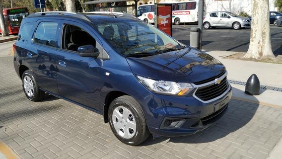 Chevrolet Spin Lt 1.8 Solo Con Dni En Cuotas La #9