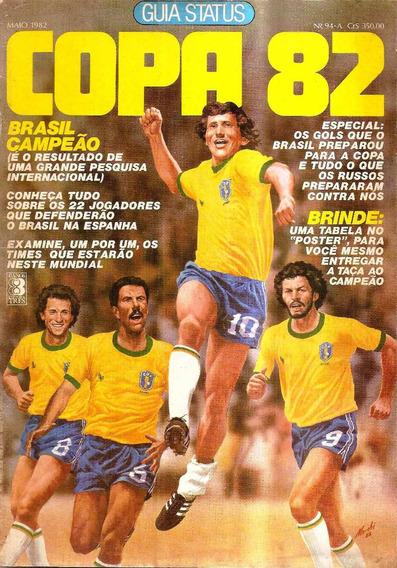 Revista Guia Copa 82 - Original De Época - Tabela Em Branco