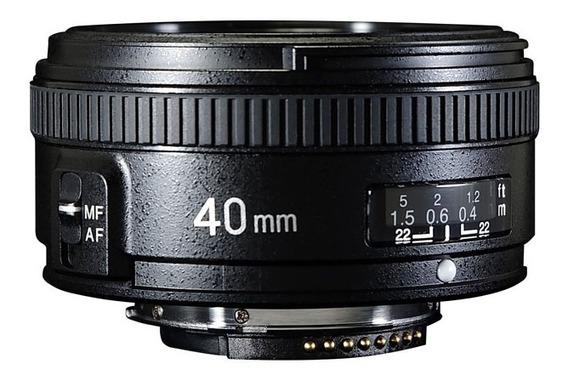 Lente Yongnuo 40mm F/2.8 N