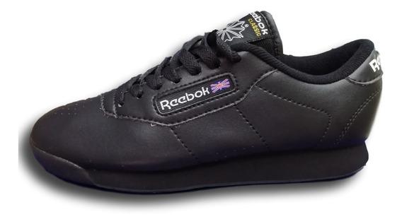 Tenis Zapatillas Reeb Clasicas Negra