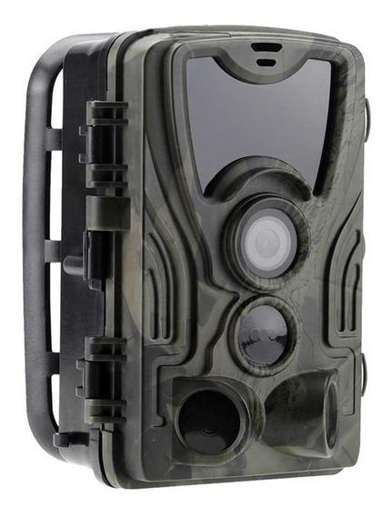 Câmera Trilha Caça Super Visão Noturna Hc801a Menu Portugues