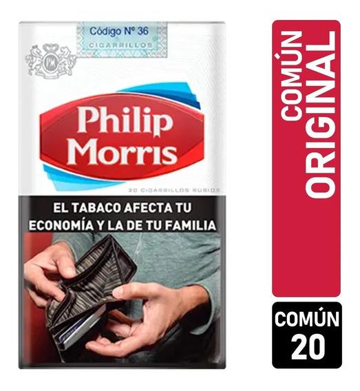 Cigarrillo Philip Morris Comun De 20 Carton De 10 Unidades
