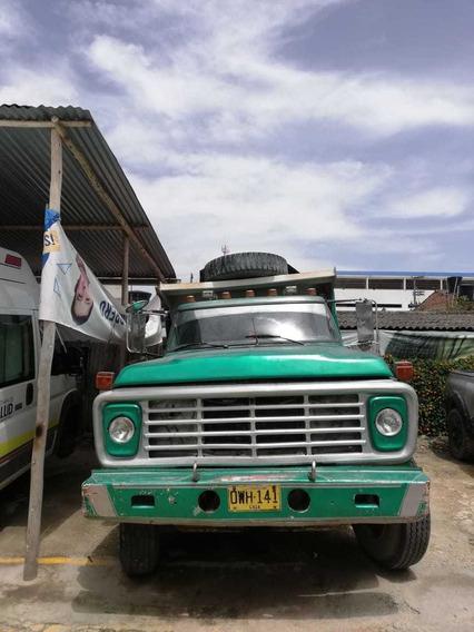 Vendo O Permuto Volqueta Ford 68 Con Motor Pincher
