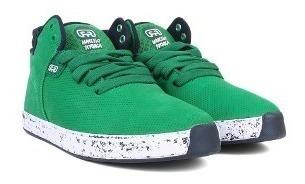 Tênis Hocks 4miga Verde/marinho