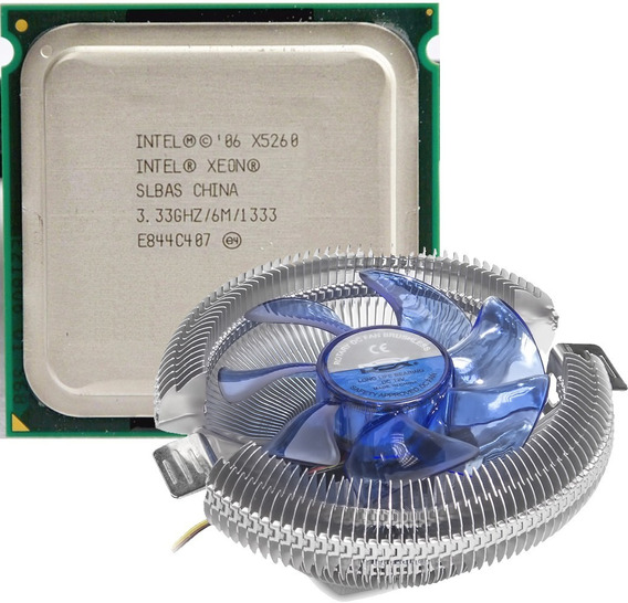 Intel Xeon X5260 Dual Core 3.33ghz/6mb/1333mhz/lga775=e8600