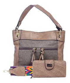 Bolsas Femininas Saco Com Carteira E Alça Estampada Colorida