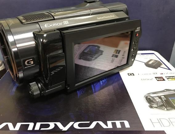 Filmadora Sony Hdr Xr 500 12mp Gps Full Hd 120gb Night Shot