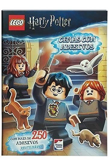 Livro Lego Harry Potter - Cenas Com Adesivos