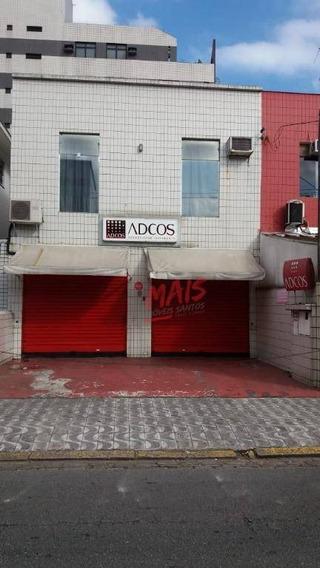 Excelente Localização Comercial ! Sobrado Com Estacionamento Na Frente - So0389