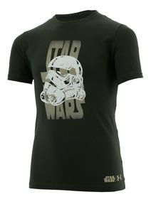 Playera Star Wars Trooper Back Niño Under Armour Ua2794